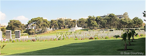 Phaleron Commonwealth War Graves Cemetery, Athens, Greece