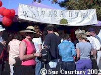 The Waipara Downs tent