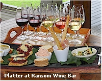 Ransom Wine Bar Platter