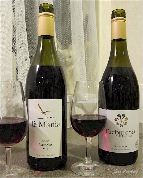 Te Mania and Richmond Plains Pinot Noirs 2015